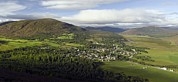 River Dee Framed Prints - Braemar Village, Scotland, Uk Framed Print by Duncan Shaw