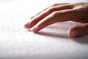 Fingertips Prints - Braille Reading Print by Mauro Fermariello
