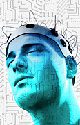 Human Digital Art - Brain Circuit by MedicalRF.com