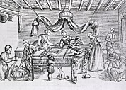 Brain Surgery Prints - Brain Surgery In The 16th Century.  A Print by Everett