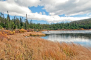 Mixed Media Originals - Brainard Lake Colorado by James Steele
