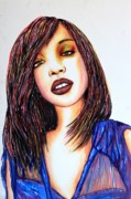 Songwriter Mixed Media - Brandi by Joseph Lawrence Vasile