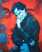 Bruce Lee Paintings - Brandon Lee by Mark Dallmeier