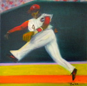 Cincinnati Paintings - Brandon Phillips by Joe Pearce