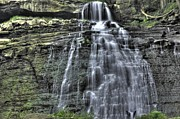 Brandywine Prints - Brandywine Creek Falls Print by David Bearden