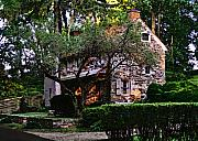 Brandywine Prints - Brandywine Homestead Print by Gordon Beck