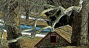 Brandywine Springhouse Print by Gordon Beck