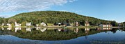 Adirondacks Photo Posters - Brant Lake Reflections Poster by Joshua House