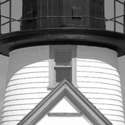 Nantucket Art - Brant Point Lighthouse Nantucket by Charles Harden