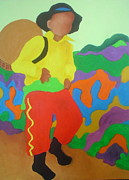 Latin America Paintings - Brasil Boy by Diana Ogaard