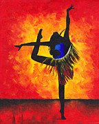 Dancer Prints - Brasilia Print by Katia Zhukova