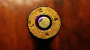 Photography By Colleen Kammerer Prints - Brass Bullet LC66 Print by Colleen Kammerer