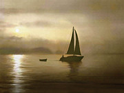 Brass Sail Print by Robert Foster