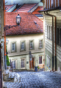 Old World Metal Prints - Bratislava. As The City Sleeps Metal Print by Juli Scalzi