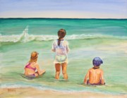 Shores Paintings - Brats by Patricia Piffath