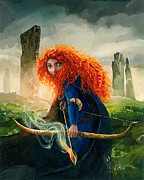 Films Originals - Brave Merida by Jim Salvati