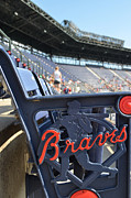 National League Prints - Braves Game Print by Luke Pickard