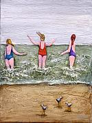 Beach Reliefs - Braving the Elements by Linda Carmel