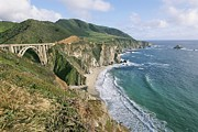 Bixby Bridge Metal Prints - Brazil Ranch, Bixby Bridge Metal Print by Rich Reid