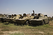 Combat Vehicles Framed Prints - Brdm-2 Combat Reconnaissancepatrol Framed Print by Terry Moore