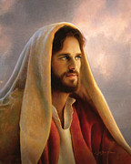 Red Robe Prints - Bread of Life Print by Greg Olsen