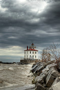 Headlands Prints - Break in the Storm Print by At Lands End Photography