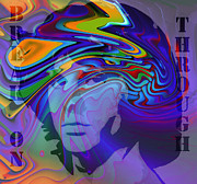 Jim Morrison Art - Break on Through Two by Stefan Kuhn