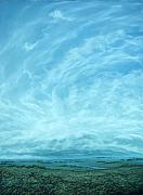 Field. Cloud Pastels - Break Through by Lisa Higby LeFevre