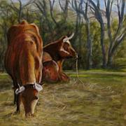 Agriculture Pastels - Breakfast Club by Wendie Thompson