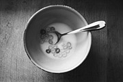 Spoon Metal Prints - Breakfast Metal Print by Linda Woods