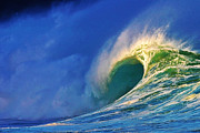 Surf Art Art - Breaking Dawn by Paul Topp