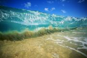 Below Framed Prints - Breaking Wave Framed Print by Vince Cavataio - Printscapes