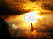 Sun Breakthrough Photo Posters - Breakthrough Poster by Art By Demarti