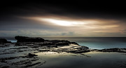 Seascape With Clouds Posters - Breakthrough Poster by Mark Lucey