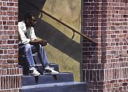 Black Man Art - Breaktime by Denny Bond