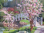 Peaceful Scene Paintings - Breath of Spring by L Diane Johnson
