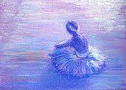 Dancer Pastels Originals - Breathing Space by Regina Levai
