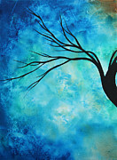 Tree Art Paintings - Breathless 1 by MADART by Megan Duncanson