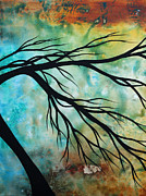 Megan Duncanson Metal Prints - Breathless 2 by MADART Metal Print by Megan Duncanson