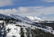 Ski Resort Photo Posters - Breckenridge Resort Colorado Poster by Brendan Reals