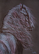 Friesian Prints - Breeze Print by Ann Jeffree