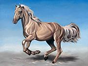 Horse Paintings - Breeze by Ilse Kleyn