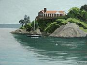 Brenton Cove Print by Robert Rohrich