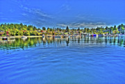 Brentwood Photos - Brentwood Bay Bc by Lawrence Christopher