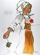 Breton Girl Print by Mykul Anjelo