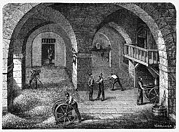 Germinate Prints - Brewery, 19th Century Print by Cci Archives