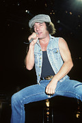 Rich Fuscia Art - Brian Johnson by Rich Fuscia