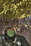 Overhanging Posters - Brick Bridge Over Canal Poster by Andersen Ross