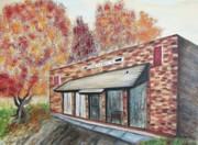 Suzanne  Marie Leclair - Brick Building