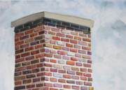 Blurred Paintings - Brick by Brick by Carolyn Weir